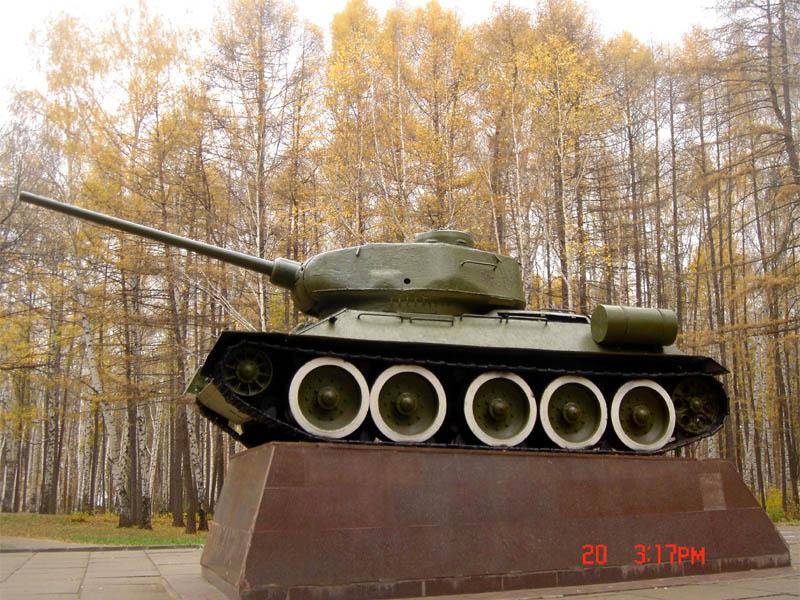 Танк в уфе т 34 памятник цена на памятники ярославль в брагино