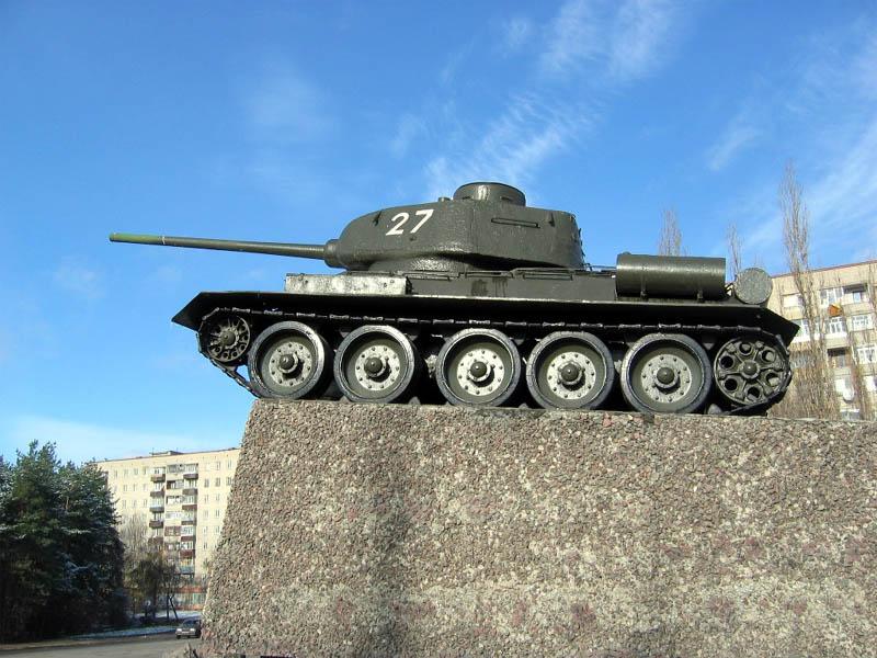 Памятник танкистам Т-34, Воронежская область, Воронеж и Воронежский городской округ.